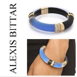 NWOT!- Alexis Bittar Color Blocked Hinge Bracelet.